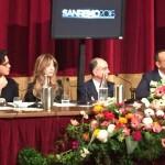 Festival di Sanremo 2016, Gabriel Garko sul palco dell'Ariston