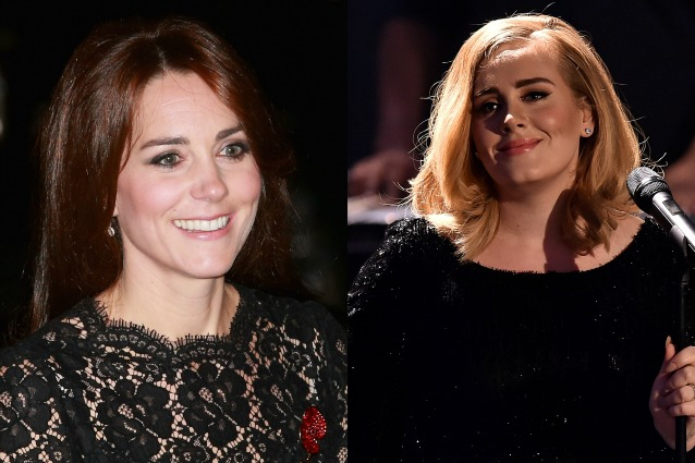 Kate Middleton e Adele