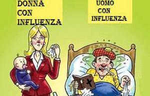 Influenza uomo e donna