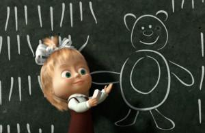 Masha e Orso scuola