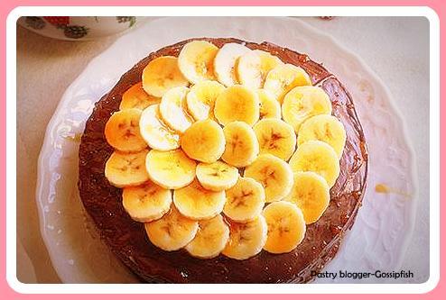 Torta di Banane e noci