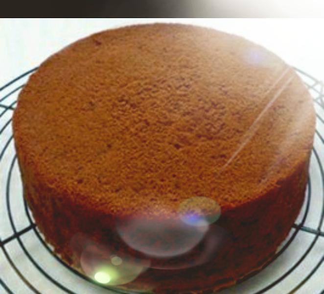 Pan di Spagna cacao parvè