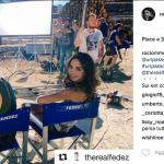 Rocio Munoz Morales seduce Fedez….sul set di Un Passo dal ..