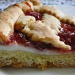 Pastry Blogger, la Crostata di Ricotta e Visciole ricordi, sapore ..