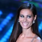 """Sanremo 2017, Marica Pellegrinelli splende all'Ariston:""""Eros mi ha detto:Sanremo è .."""