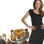 Angelina Jolie alla presentazione di Kung Fu Panda 3: decisamente ..