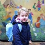 George Alexander Louis, primo giorno di scuola per il figlio ..