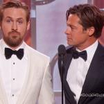 Golden Globe 2016, Brad Pitt e Ryan Gosling che bellezze!
