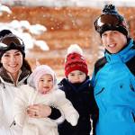 Kate Middleton e William prima vacanza sulla neve con i ..
